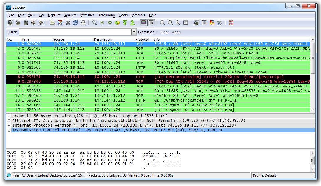 lab 5 perform protocol capture amp analysis using wireshark
