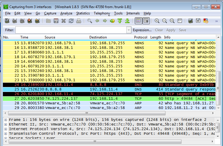 Sniff Serial Port With Wireshark Oui