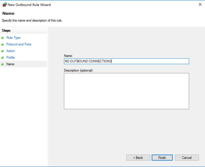 15: Windows Firewall (30 pts  + 15 pts  extra credit)