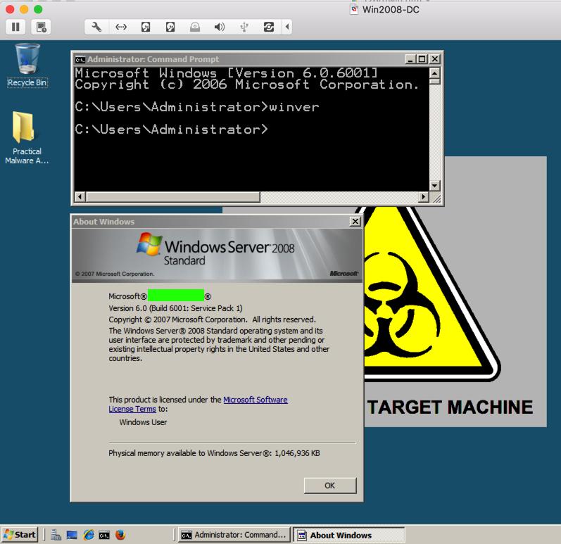 Project 1: Malware Analysis Virtual Machine (15 Points)